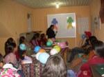 Flora y Margarito (técnicos de CEDEPEM) en el taller sobre género