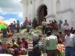Plaza de Chichicastenango