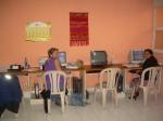 Trabajando en la oficina de CEDEPEM