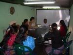 Reunión de personal sobre el nuevo Proyecto de Treball Solidari