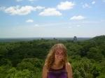 Panorámica desde el Templo IV en Tikal